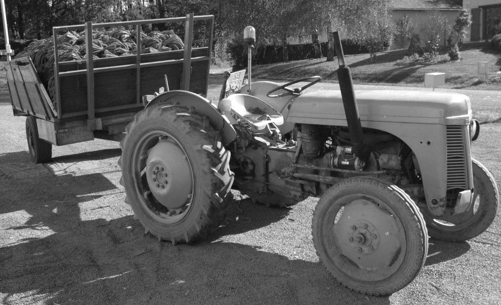 Le tracteur Moreau
