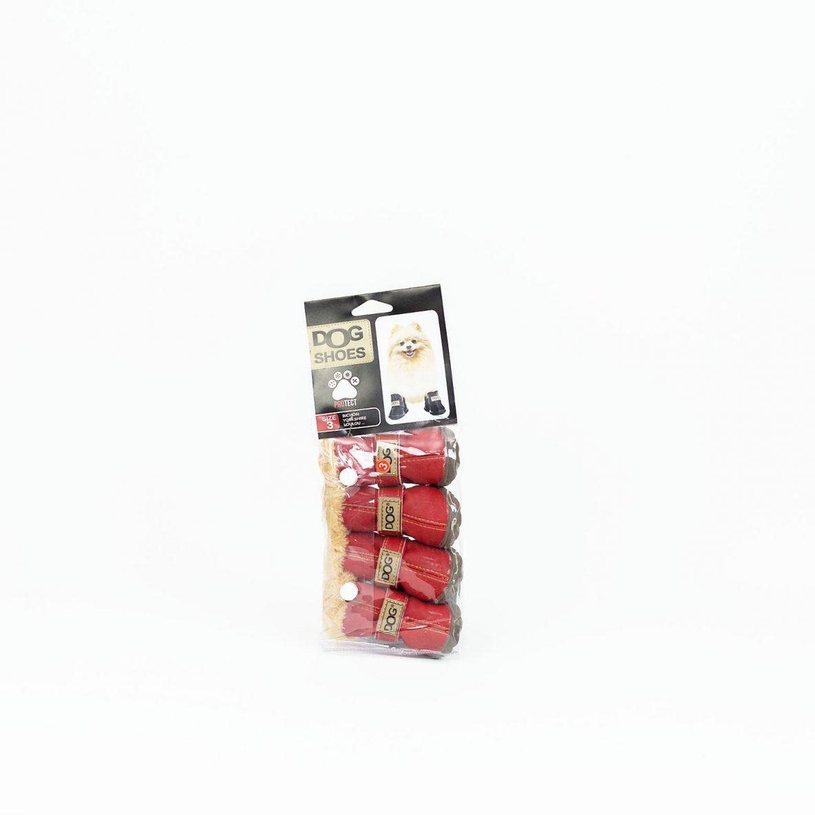Chaussure pour chien couleur rouge Moreau Millet