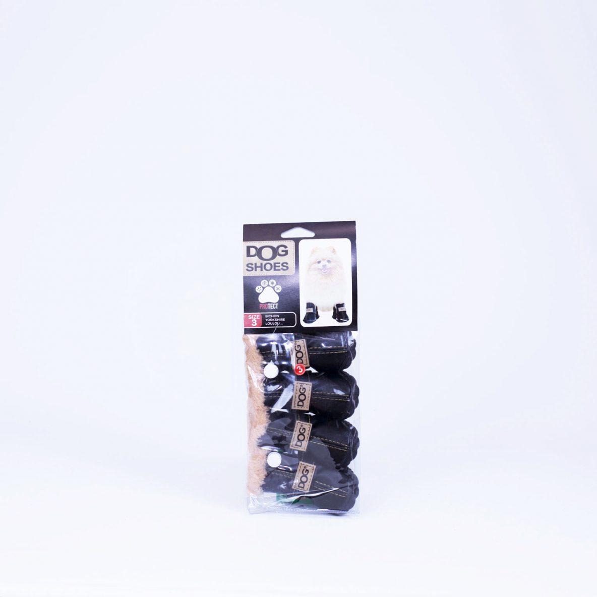 Chaussure pour chien couleur noir Moreau Millet