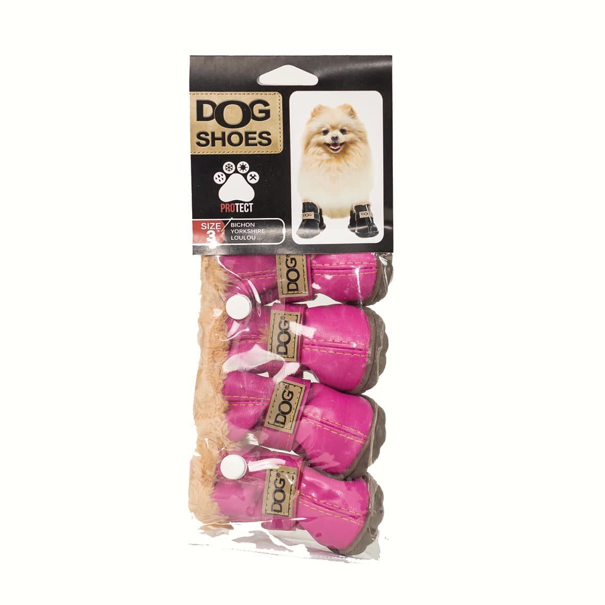 Chaussure pour chien couleur rose Moreau Millet