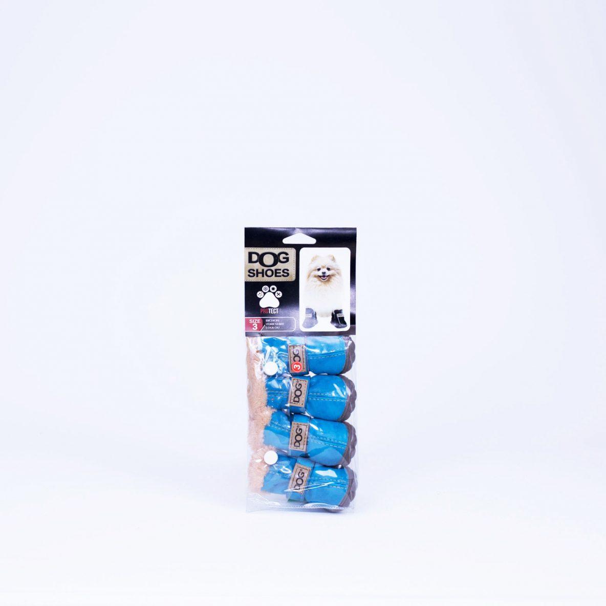 Chassure pour chien couleur bleu Moreau Millet