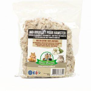 Nid douillet coton hamster 50g